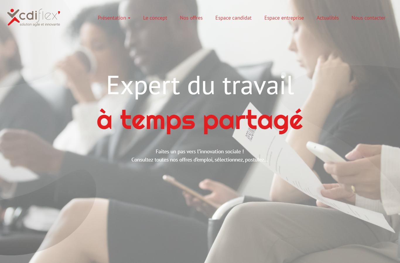 Création site web Entreprise de Travail à Temps Partagé